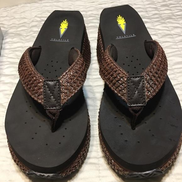 Volatile Shoes - Volatile wedge flip flopped